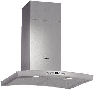 D86DK62N0B This stylishly curved 60 cm wide Chimney hood in Stainless steel has 2 x 20W low energy halogen lamps and 2 metal grease filter cassettes also a SoftLight with dimmer function. Features ◾7 segment LED display◾Interval operation ◾For wall mounted installation◾Soft touch control for extractor speeds and light◾Height adjustable ◾Suitable for ducted extraction and recirculation◾3 power levels and 2 intensive settings◾Automatic revert setting◾Easy mounting system…