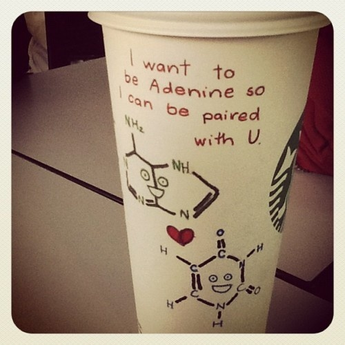 The 25 best biology pick up lines ideas on pinterest chemistry i want to be adenine so i can be paired up with you nerdy pick up lines urtaz Images