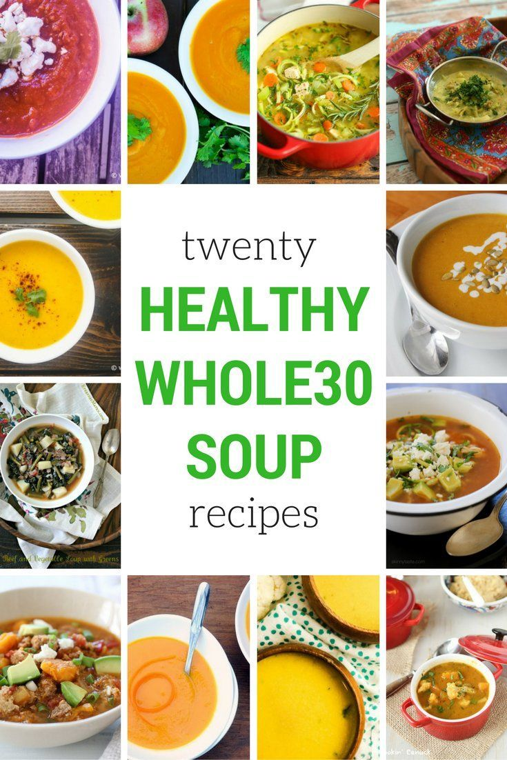 Twenty delicious and healthy Whole30 Soup Recipes to get you through cold nights.With the new year on the horizon, lots of folks are already talking about embarking on a Whole30. And after...