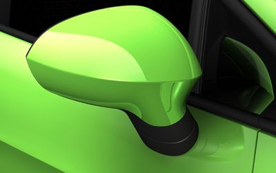 Les rétroviseurs extérieurs chauffants à commande électrique ajoutent du cachet à votre nouvelle SEAT Ibiza.
