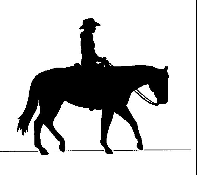 Western Horse Clip Art Free | Western rider - Found at the Clip Art Collection