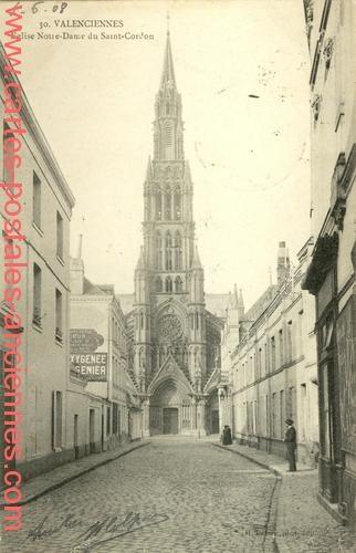 Eglise Notre Dame du Saint Cordon.