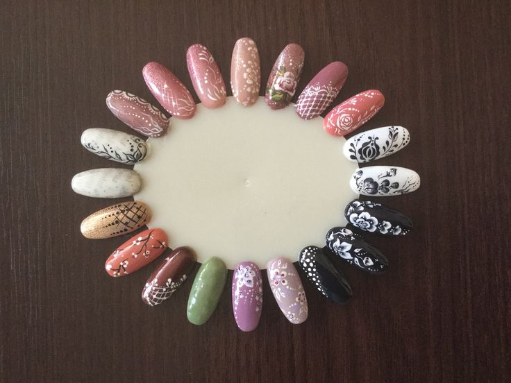 Nail design - My firts patterns