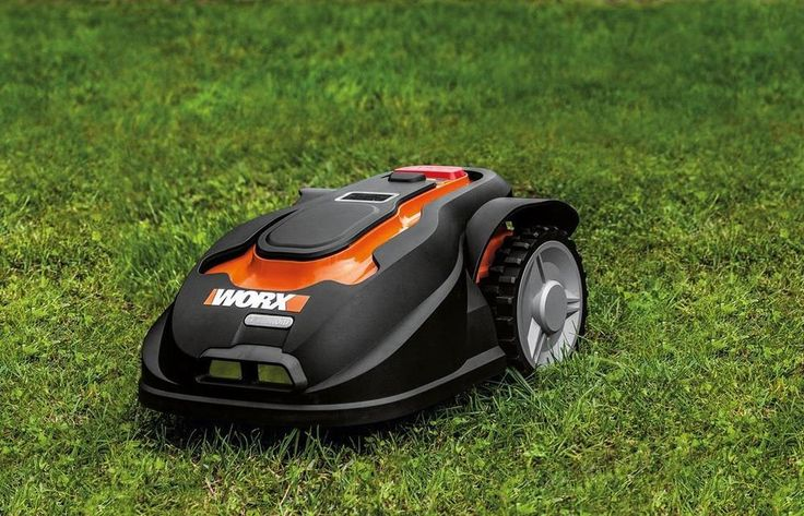Robotic Lawn Mower Rechargeable Grass Cutting Droid Yard Rumba Landroid AI Auto #RoboticLawnMowerRechargeableGrassCuttingDroi