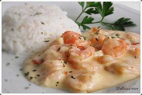 Camarão ao catupiry  http://www.delicias1001.com.br/2012/02/camarao-ao-catupiry.html