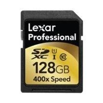 Lexar Media, 128GB SDXC Card 400X