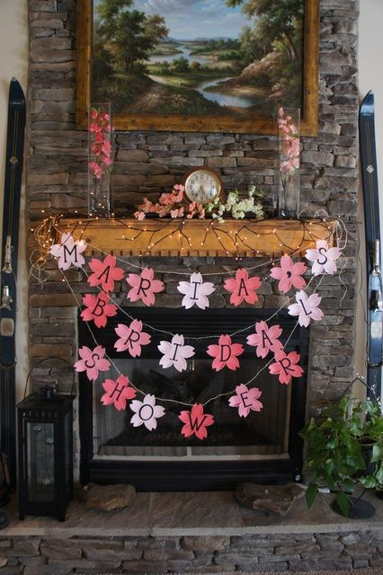 Japanese cherry blossom themed bridal shower by yours truly! Bkaye (click the link to view more pics)