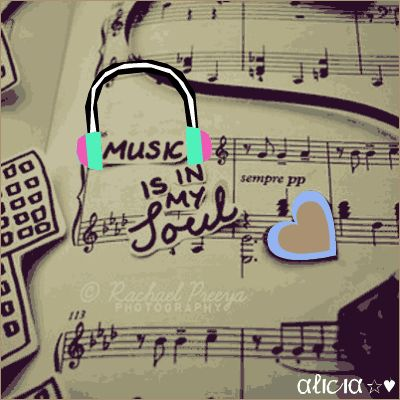What is music to you? Remix by Alicia http://www.imagechef.com/ic/myitem.jsp?myremix=23491653 #music #love #imagechef