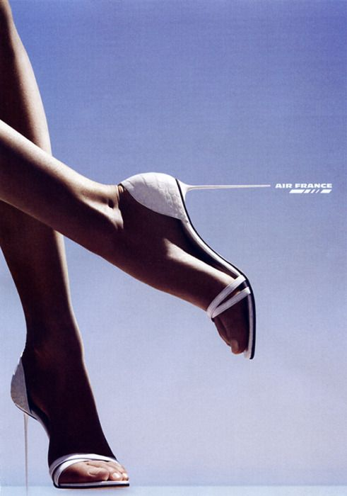 Air France ad | via tumblr
