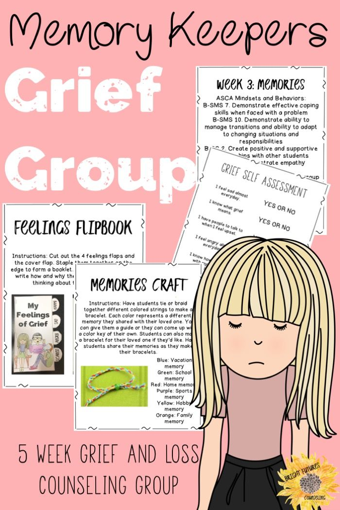 activities for adult grief group