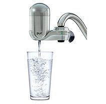 PUR Advanced Faucet Water Filter – Stainless Steel Style