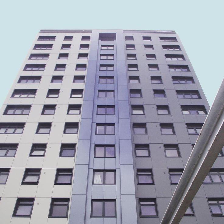 JMA Marwood Towers, Liverpool. Tower refurb and extension nears completion.