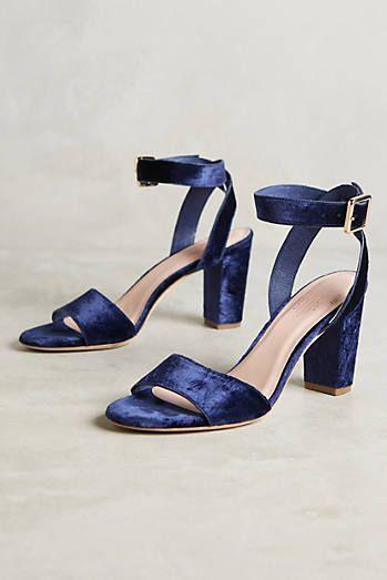 Charlotte Stone Samia Velvet Heels