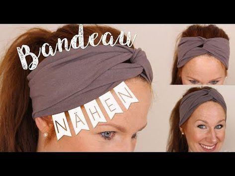 Nähanleitung für Anfänger // Bandeau Haarband …