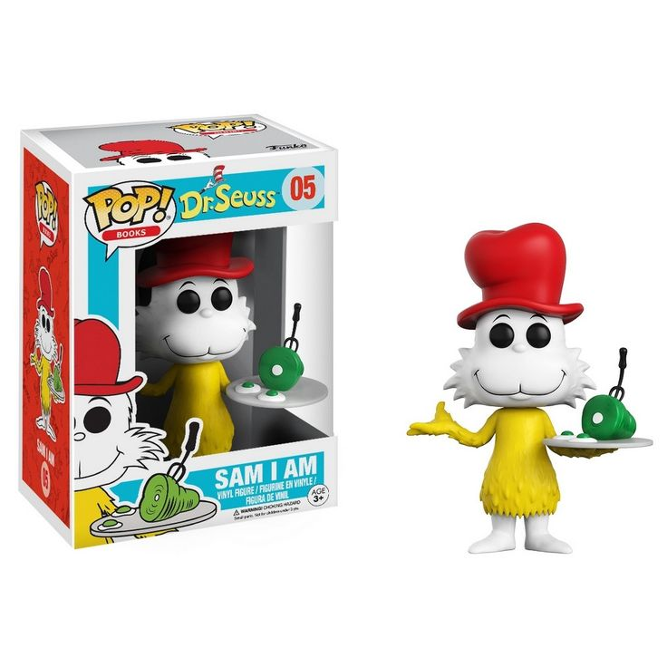 Funko Pop! Dr. Seuss Sam I Am Mini Figure