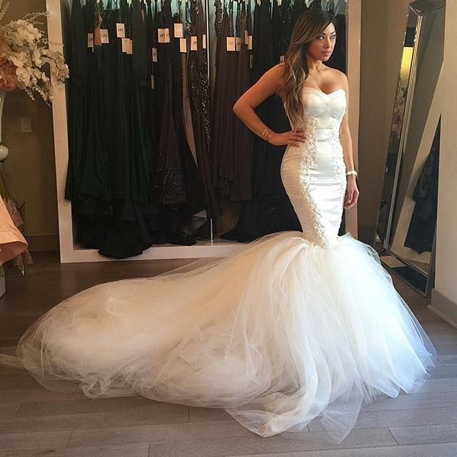 Brittney payton wedding bing images for Ryan and walter wedding dress prices