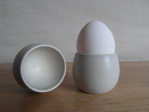 Søholm Denmark - pair egg cups - RARE - mid century on Etsy, $52.37