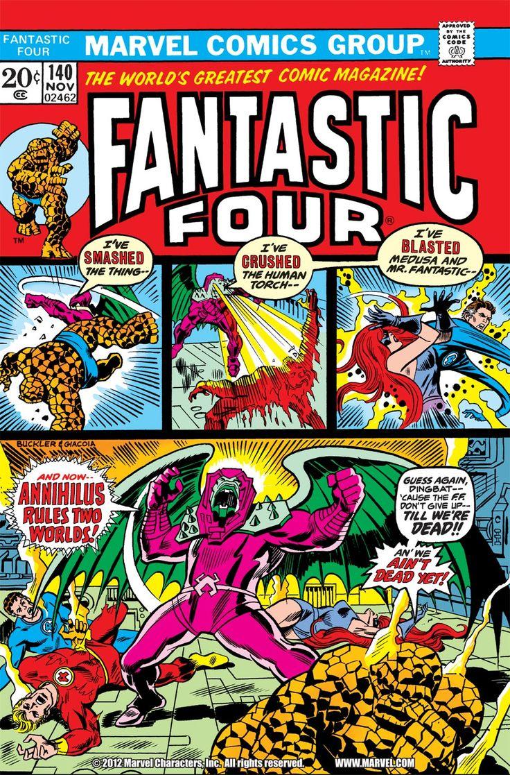 Fantastic Four (1961) 140 Page 1