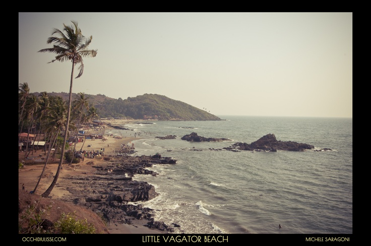 A little piece of #paradise in #Vagator #Goa.  #India.