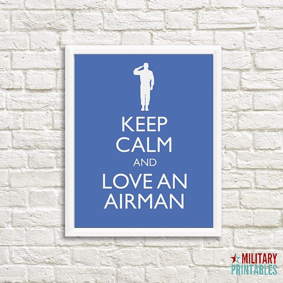 Air Force Girlfriend Air Force Wife Air by MilitaryPrintables