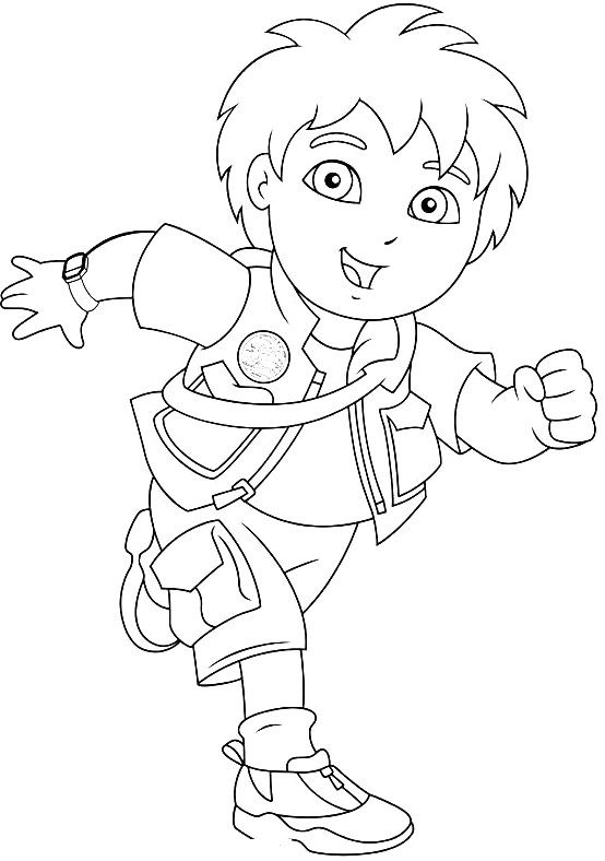 diego christmas coloring pages - photo#16