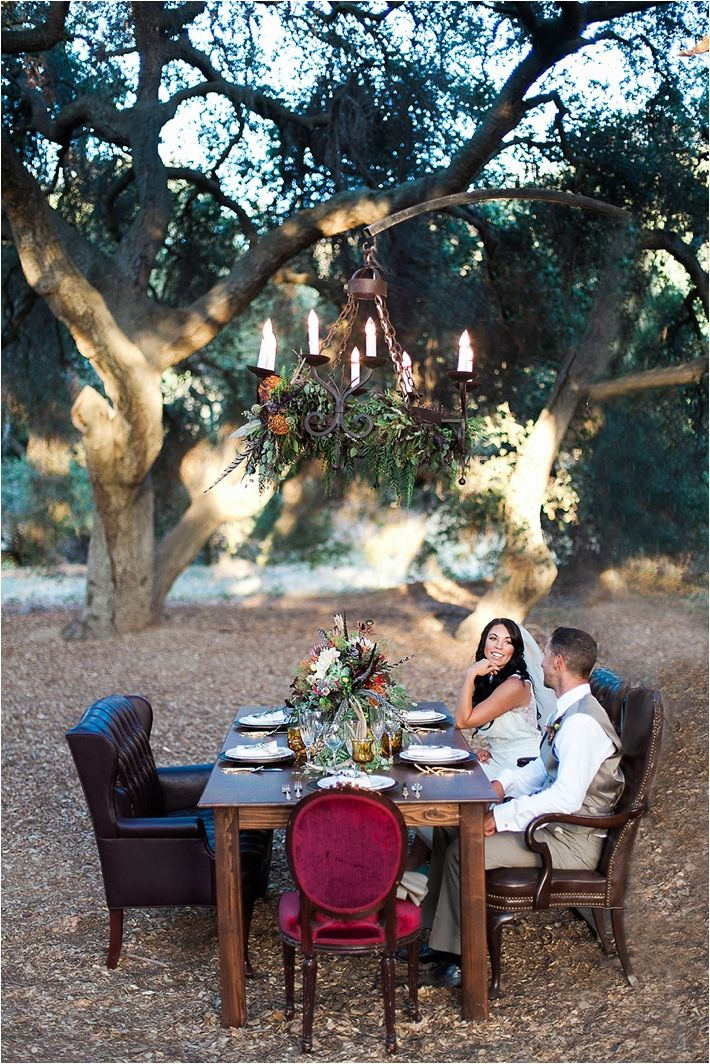 Earthy Styled Wedding Shoot at the Chumash Indian Museum | Poiema Photography Rentals by Party Pleasers