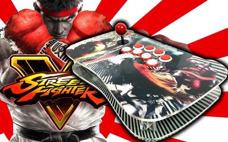 Nuevo Mando Fightstick Pro PS3 PS4 PC profesional para juegos de fighter, con unas altas calidades tanto en el acabado como en los mandos, los cuales son de la empresa Sanwa Denshi. Tus ataques y combos podrás realizarlos sin problema alguno, no habrá enemigo que se te resista.
