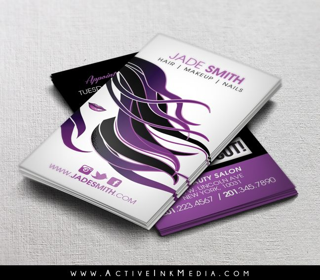 14 Best Hair Stylist Barber Business Cards Images