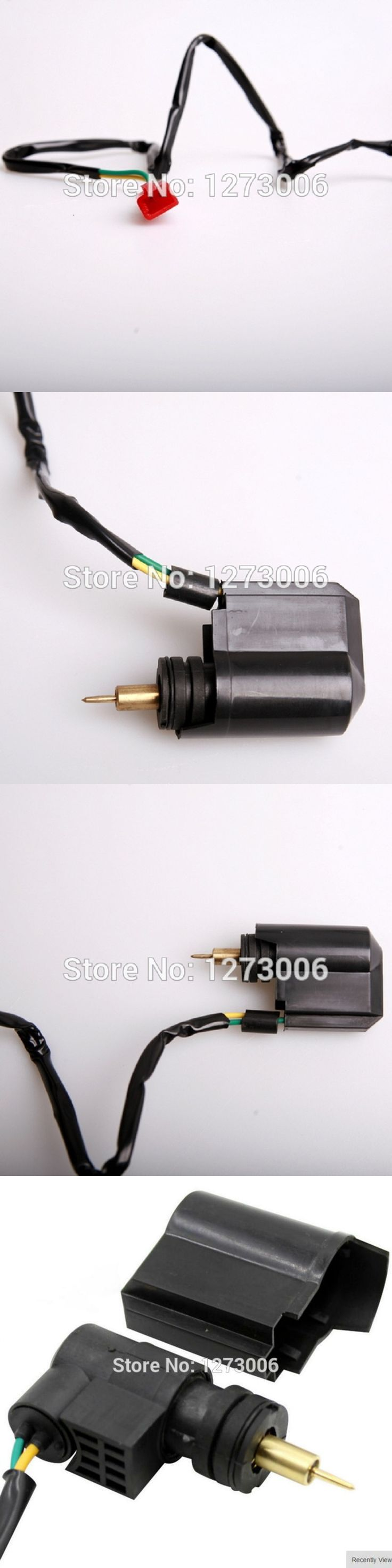 1PCS Car-Stying Moped ATVs GY6 50cc 125cc 150cc CARB Carburetor Electric Choke Automatic Electric Choke Scooter Black HOT SALE