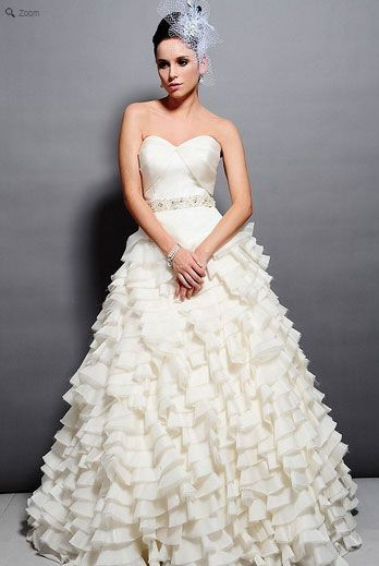 Saison Blanche Wedding Gown - Couture Collection - Style #4165