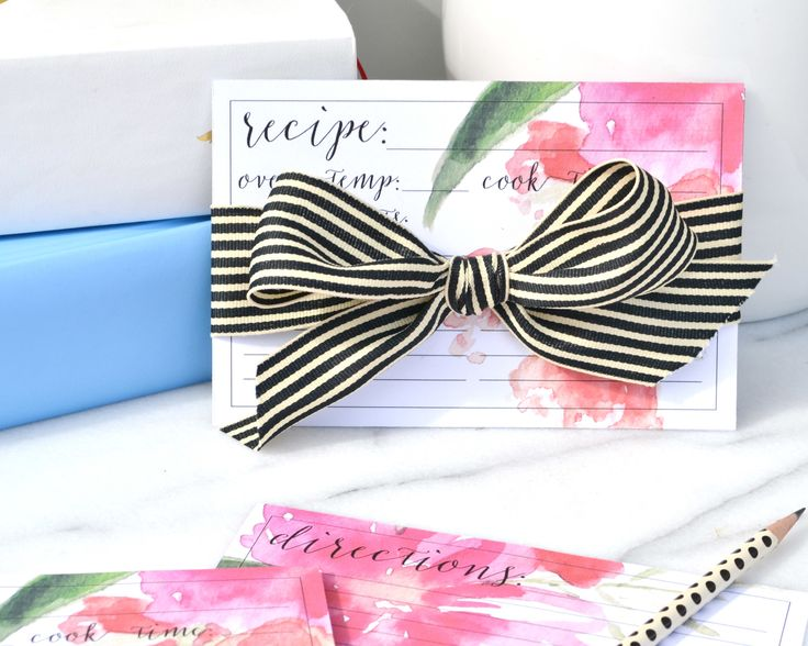 Free Mother's Day Recipe Card Download   Boxwood Avenue