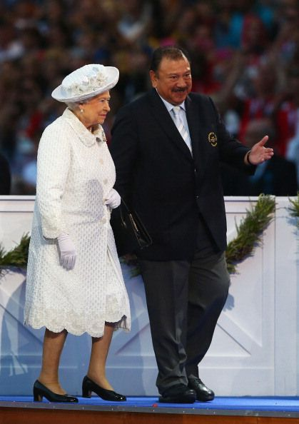Queen Elizabeth, July 23, 2014 in Angela Kelly | Royal Hats........Posted on July 23, 2014 by HatQueen.....Queen Elizabeth and Prince Philip, Duke of Edinburgh, attended the Opening Ceremony for the Glasgow 2014 Commonwealth Games today.