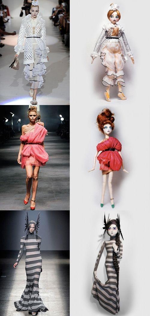 Kouklitas dolls - trés chic!