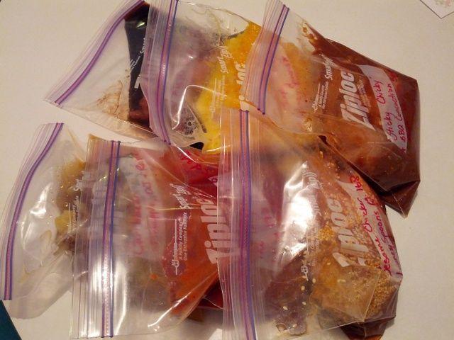 Caribbean, Maple Balsamic, Simply Orange, Sticky, Sesame Sweet Dump Chicken Recipes