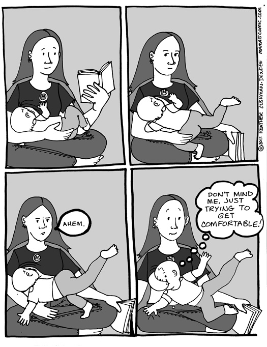 I love Heather's comics in general, but this particular always makes me laugh when I see it. Or think about it.