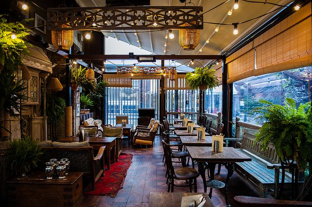 Dishoom, shoreditch - best indian food in London. and affordable! Recommended: baileys chai and indian tapas if you want to maximise your taste experience.