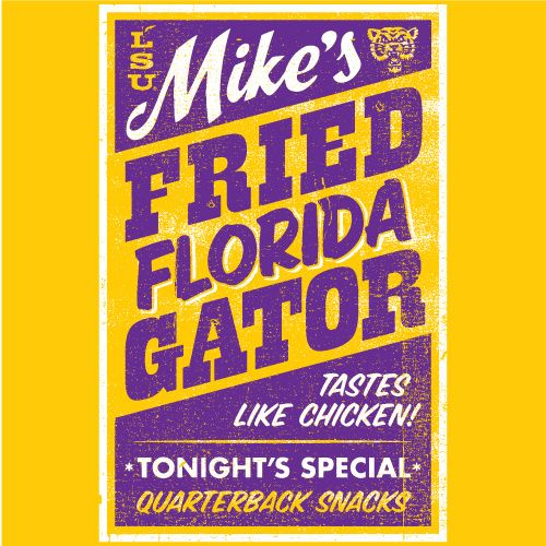 2009 LSU vs Florida Official Gameday Shirt