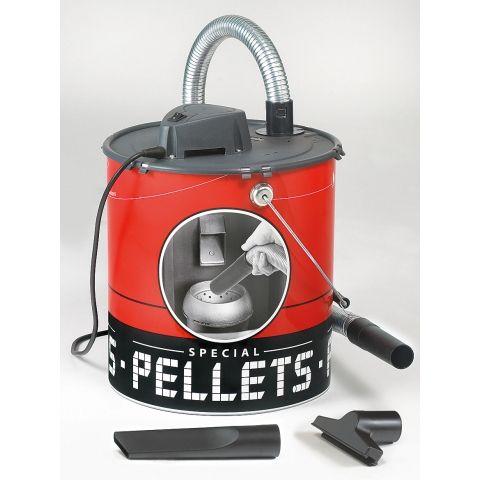 Aspirateur de cendres auto-decolmatant spécial pellets (granulés de bois) - Achetez tous nos aspirateurs de cendres auto-decolmatant spécial pellets à prix réduit sur Lekingstore.com - LeKingStore