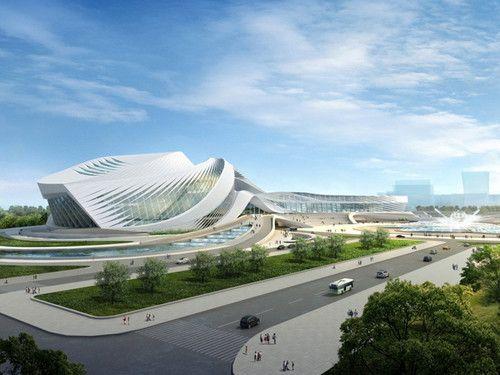 New Century City Art Centre, Chengdu,China, futuristic architecture, Zaha Hadid, future building, futuristic building, future architecture, futuristic design, NCCAC