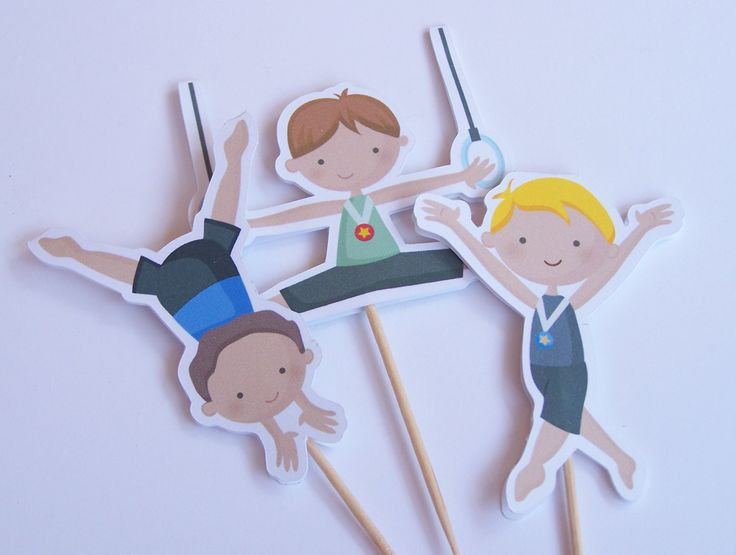 gymnastics cake toppers 10 best images about gymnastics birthday on 4651