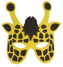 Máscara jirafa