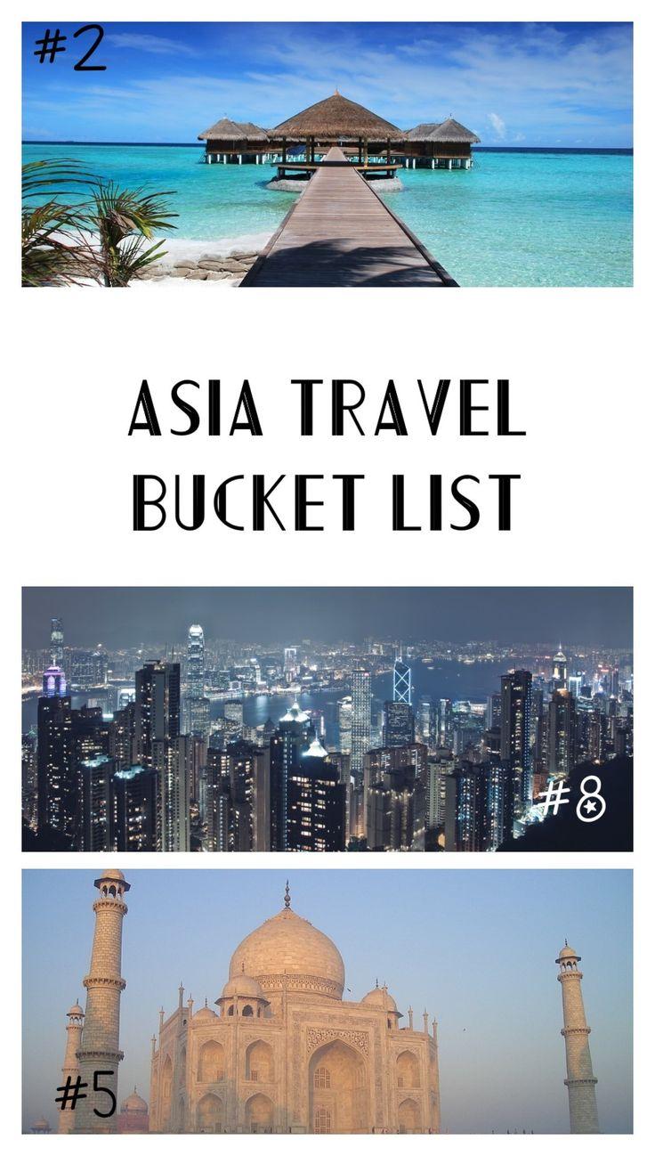 Asia Travel Bucket List