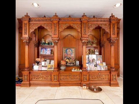 Discover Beautiful Pooja Room Designs In Wood For Your Living Bedroom And Hall These Are Apt Flats Apartments