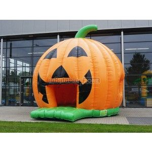 Custom made orange pumpkin wholesale inflatable bouncers,inflatables bouncers for sale