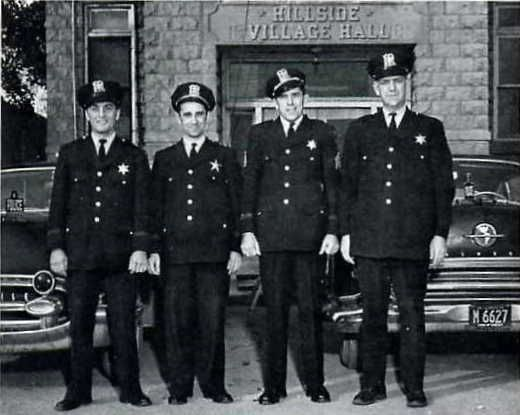 Typical police officers, U.S., 1955