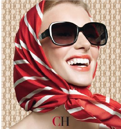 Coleccion de gafas de Carolina Herrera verano 2012