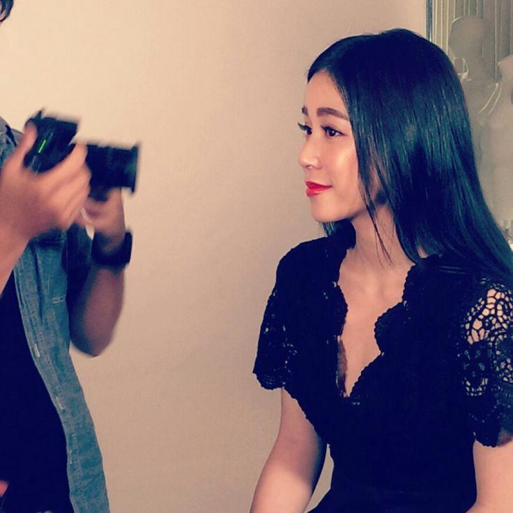 Lei lei, 陳筱蕾, ELLE, shooting, Laura Mercier, 2015 A/W, actress, model