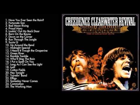 Creedence Clearwater Revival's Greatest Hits   Best Songs Of Creedence C...