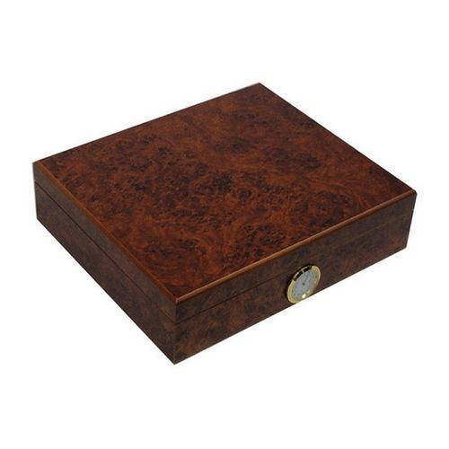 Portable Cigar Box Humidor Humidifier Tobacco Holder Storing Cigars Hygrometer
