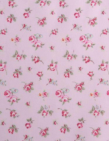 Oilcloth Rosebud Rose
